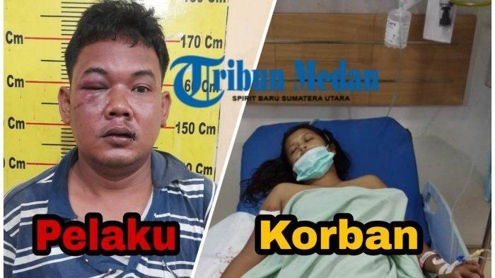 Suami Beli Pisau dan Tikam Istri hingga Bersimbah Darah di Medan, Pelaku Emosi Ditolak Rujuk