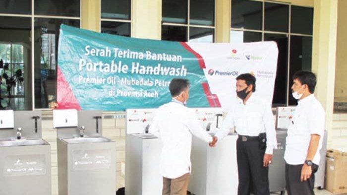 SKK Migas, Premier Oil Andaman Ltd dan Mubadala Petroleum Salurkan Bantuan Pencegahan Covid-19