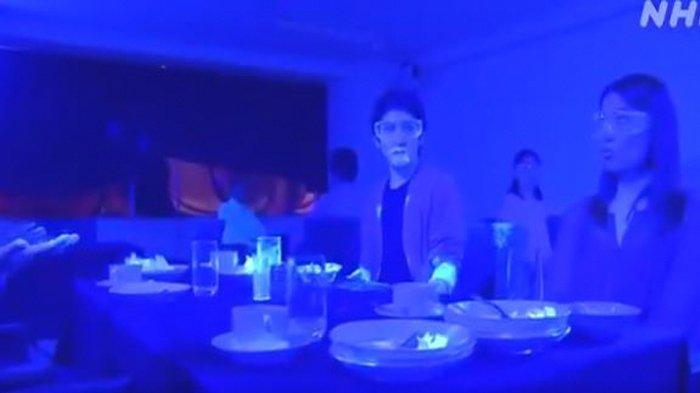 Viral Eksperimen Covid-19 di Jepang, Virus Dengan Mudah Tersebar di Meja Prasmanan dan Kapal Pesiar