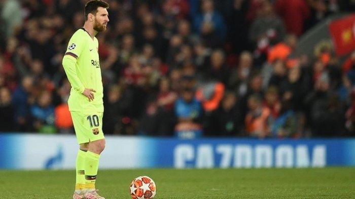 Liverpool Bantai Barcelona, Mengungkap Penyebab Mandulnya Lionel Messi di Stadion Anfield