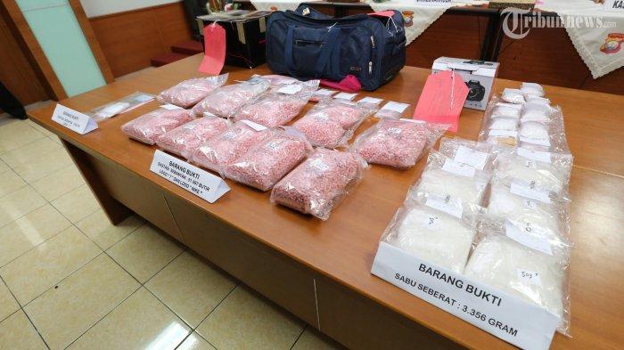 Polda Sumut Ciduk Sindikat Narkotika Internasional, Sita 45 Kg Sabu-sabu dan 40 Ribu Butir Ekstasi