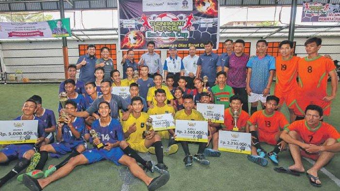 Sman 9 Juara Futsal Bank Aceh Serambi Indonesia