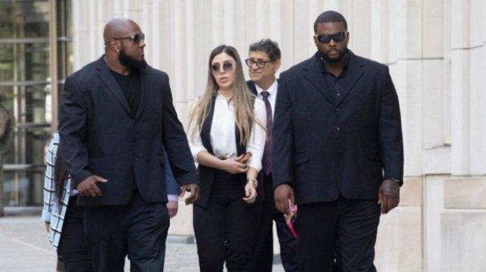 Istri Gembong Narkoba Meksiko, El Chapo Masuk Penjara, Seusai Persidangan di Pengadilan Washington