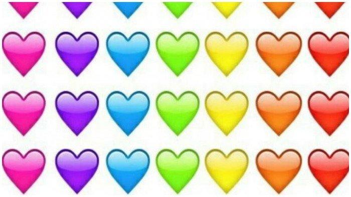 Jangan Sampai Salah Pakai, Ini Makna Emoji Love Berdasarkan Warna yang Sering Dipakai di WA