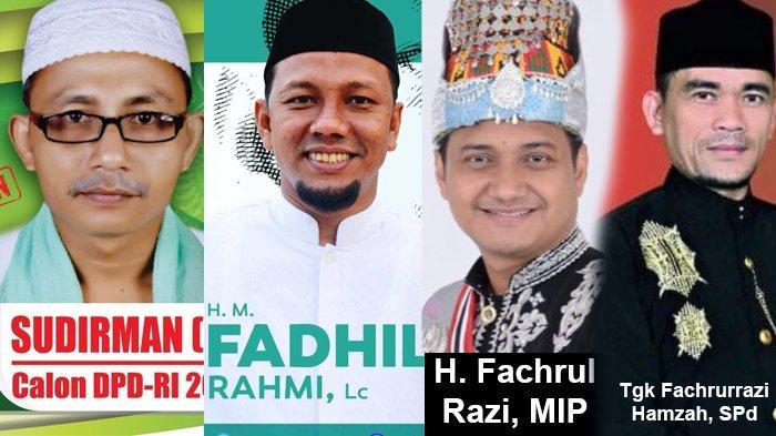 Perolehan Suara Sementara Calon DPD di Aceh Utara, Haji Uma sudah Raup 143 Ribu, Ini Daftar 10 Besar