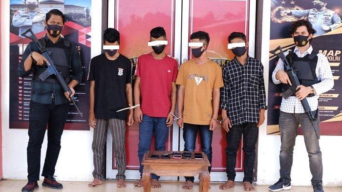 Satu dari 4 Pria yang Sekap Lima Bocah di Aceh Utara Ternyata Sudah Dua Kali Dipenjara, Ini Kasusnya