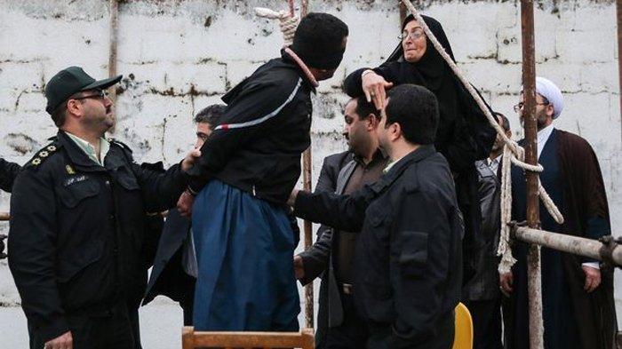 Iran  Eksekusi Gantung Empat Pria yang Perkosa Seorang Istri di Depan Suaminya