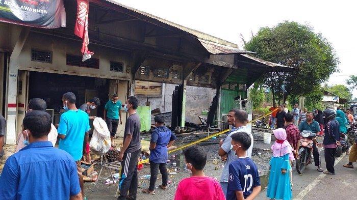 Ini Penjelasan Polisi Soal Empat Ruko Terbakar di Aceh Utara