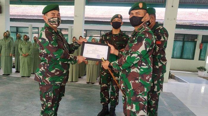 Dandim Aceh Selatan Pimpin Upacara Purna Tugas Mayor Inf Purn Emri S Soeleman