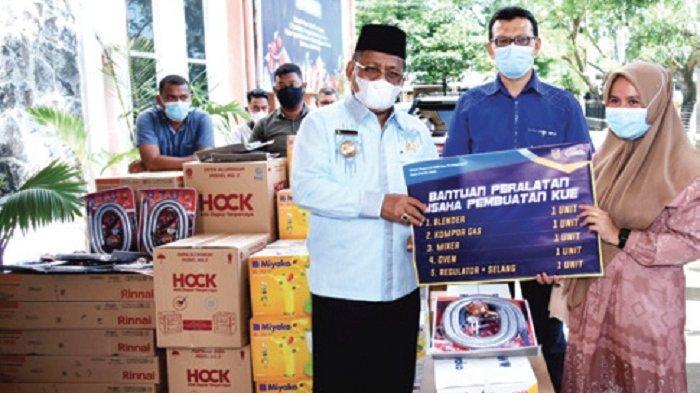 Wali Kota Bantu Pelaku UMKM Kota Banda Aceh