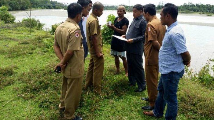 Erosi Krueng Nagan Amblaskan Ratusan Meter Tanah Warga
