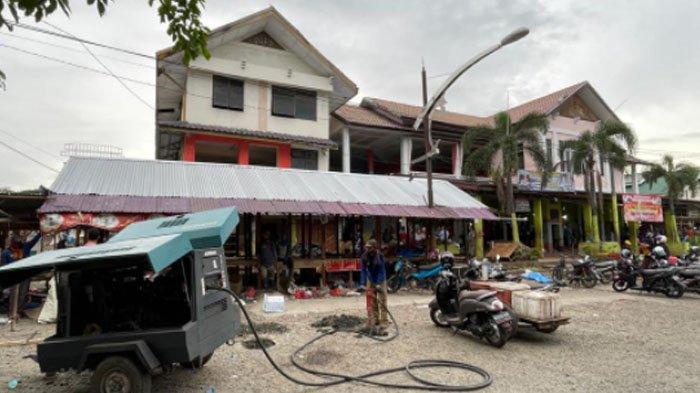 Ini Penampakan Pasar Ikan Peunayong Disulap jadi Taman Wisata Kuliner dan Bermain Anak
