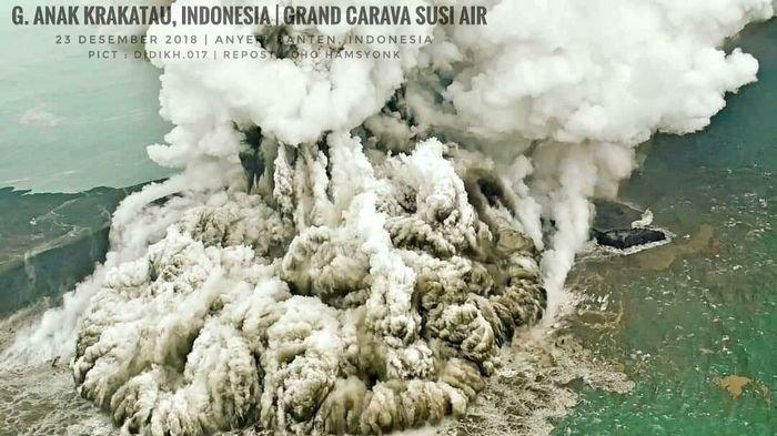 Erupsi Gunung Krakatau Tahun 1883, Seluruh Dunia Menjadi Gelap dan 'Mencekam'
