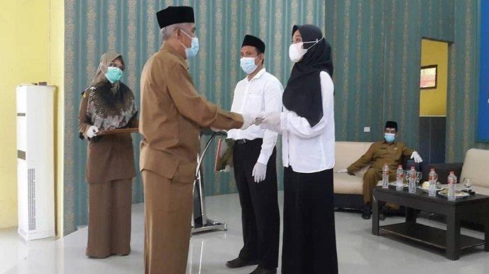 Puluhan CPNS Kemenag di Barat Selatan Aceh Terima SK