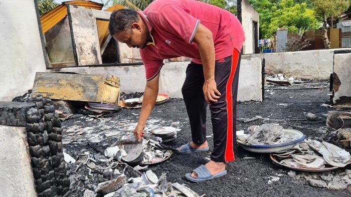 Dua Rumah Semi Permanen di Bandar Baru Ludes Terbakar, Ini Kerugian yang Dialami Korban