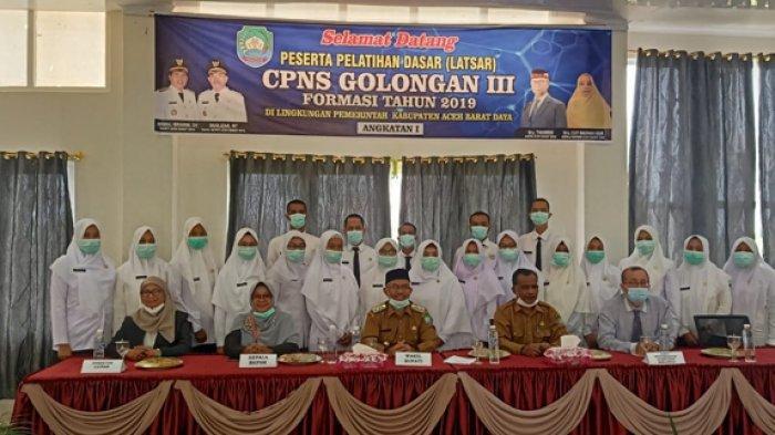 Puluhan CPNS Formasi 2019 di Abdya Mengikuti Latsar, Ini Jadwal dan Lokasi