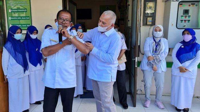 Begini Harapan Sekda Aceh Saat Melakukan Pengawalan Pencanangan Vaksinasi Sinovac 19 di Pijay