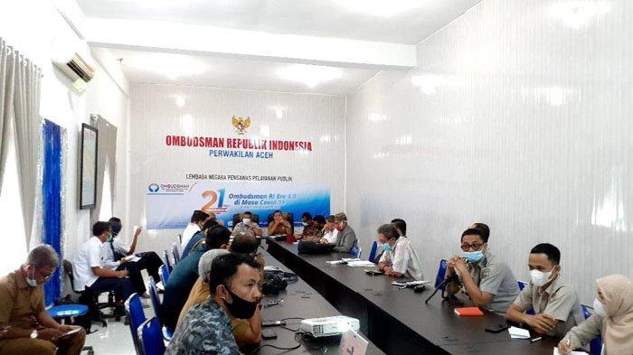 Rapat Pembahasan IPAL Banda Aceh Berlangsung Alot di Kantor Ombudsman, Ini Hasilnya