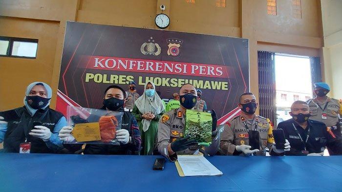 Diupah 5 Juta Antar Sabu ke Banda Aceh, 2 Warga Aceh Timur Ditangkap di Lhokseumawe