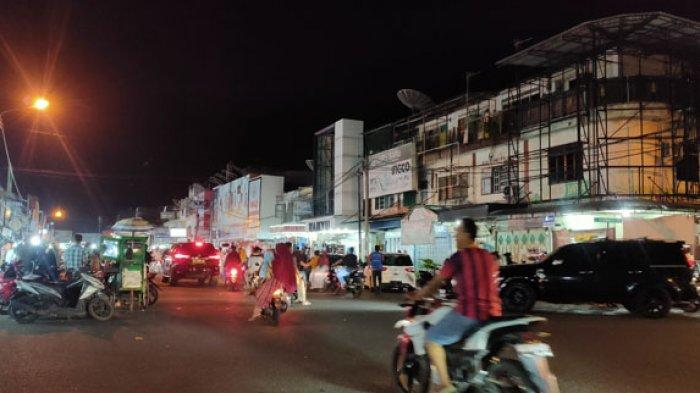 Malam Idul Fitri, Kawasan Pasar Aceh