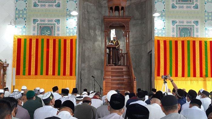 Khutbah Idul Fitri di Islamic Center Lhokseumawe: 3 Hal Penting Dalam Usaha Menjaga Kefitrahan