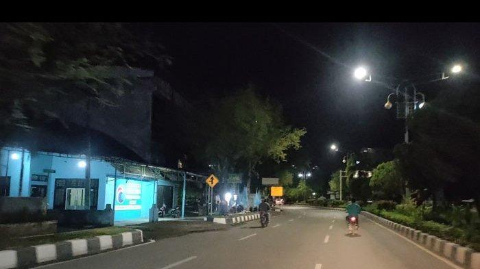 Begini Suasana Malam Kota Banda Aceh Setelah Warkop Tutup Lebih Awal