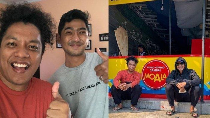Arya Saloka dan usaha bisnisnya menjual pisang goreng untuk membuka lapangan kerja orang-orang sekitarnya
