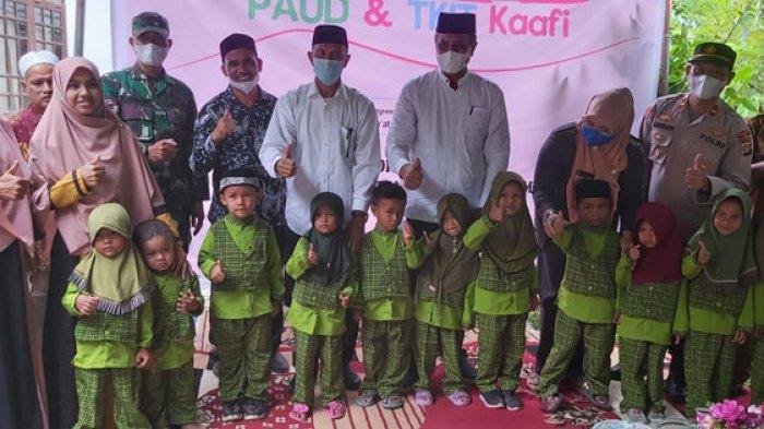 Lauching PAUD dan TKIT Kaafi Kampung Jeumpa, Sakti, Ini Pesan Wakil Bupati Pidie