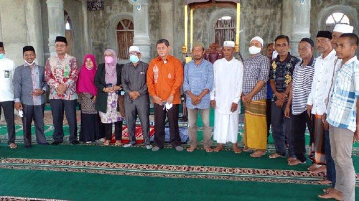 Kementerian Agama RI Bantu Masjid Baitul Ma'wa di Pante Lhok Kaju, Pidie