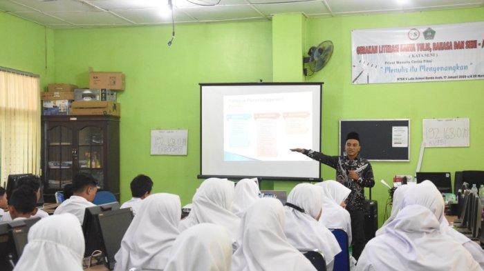 KIP Banda Aceh Edukasi Pemilihan Ketua OSIM dengan Sistem Pemilu