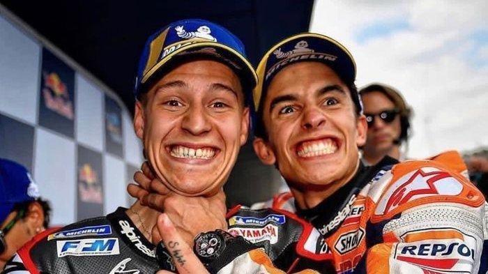 Marc Marquez Prediksi Juara MotoGP 2020, Begini Komentar Fabio Quartararo
