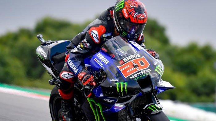Live Streaming MotoGP Italia 2021 - Fabio Quartararo Tak Ingin Ambil Pusing dengan Nama Ducati