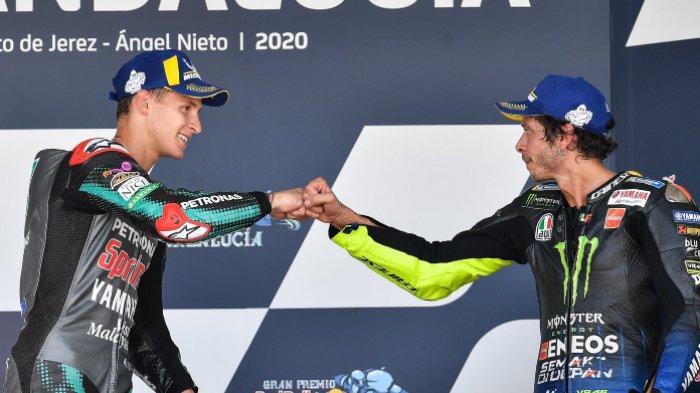 MotoGP Aragon 2021 – Yamaha Stres, Fabio Quartararo dan Rossi Sudah Pesimis di Balapan Minggu Ini