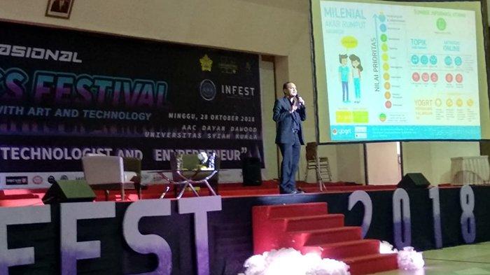 Senator Fachrul Razi Ajak Mahasiswa Kuasai Medsos dan Gunakan HP untuk Menghasilkan Uang