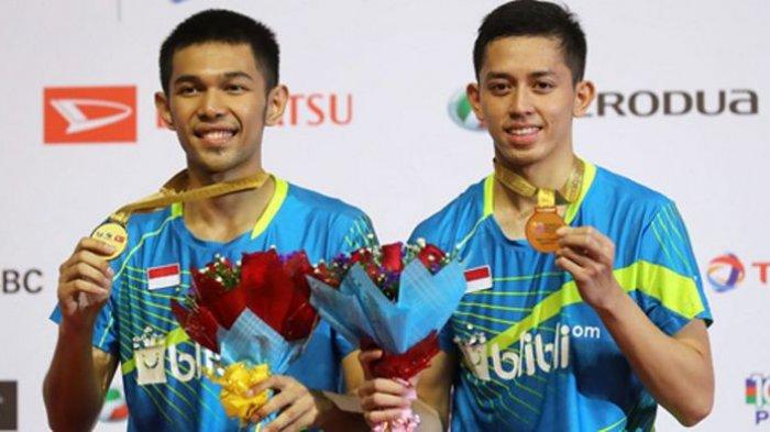 Mimpi Sepatunya Tertinggal Saat Mau Bertanding, Fajar/Rian Malah Juara Malaysia Masters 2018