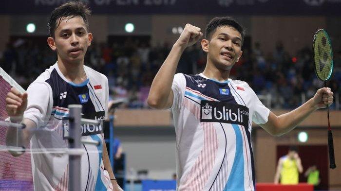 Hasil Malaysia Masters 2020 - Kalahkan Marcus/Kevin, Fajar/Rian Sempat Kesulitan Lolos ke Semifina