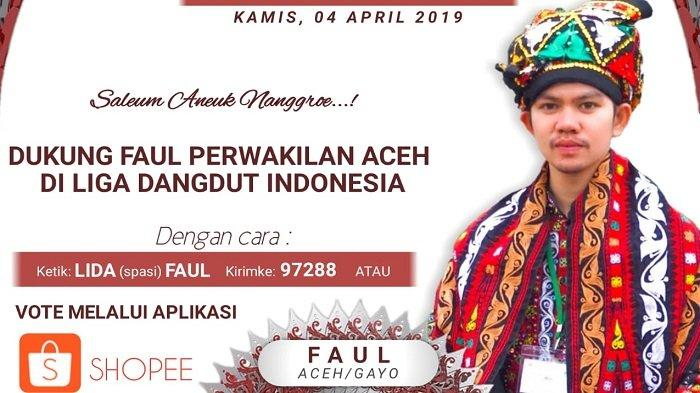 Top 12 Liga Dangdut Indonesia - Faul Bener Meriah Tergabung di Grup 2, Tampil 11 dan 13 April 2019