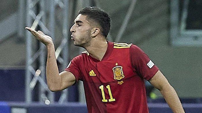 Ferran Torres, Mengakhiri Rekor Beruntun Italia, Bawa Spanyol ke Final Liga Bangsa-Bangsa UEFA