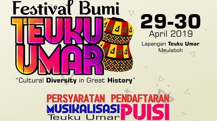 Festival Bumi Teuku Umar Digelar 29-30 April, Ada Deklarasi Kupi Khop hingga Kontes Foto Instagram