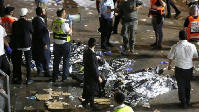 Israel Berduka, 45 Orang Tewas Terinjak-injak Dalam Festival Keagamaan Api Unggun