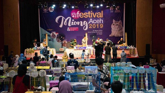 FOTO-FOTO: Puluhan Kucing Cantik dari Berbagai Ras Ikut Festival di Taman Budaya Banda Aceh - festival-kucing-2019-7.jpg