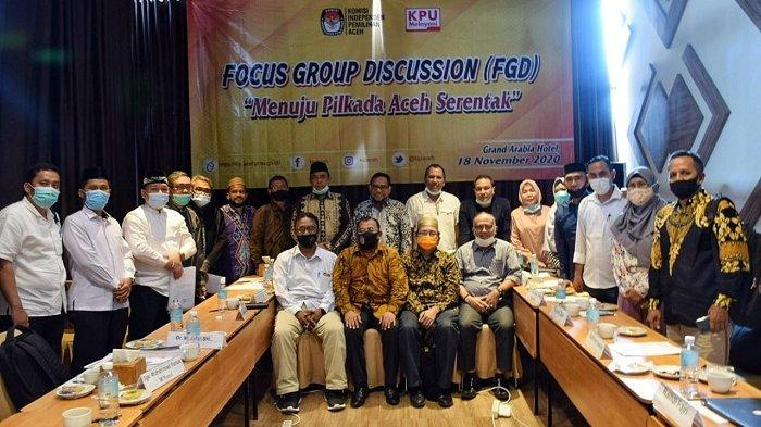 Para Pihak Sepakat Pilkada Aceh Tahun 2022, Terungkap dalam FGD KIP Aceh