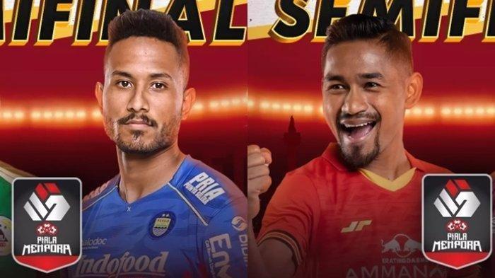 Jadwal Final Piala Menpora 2021 - Persija Vs Persib, Duel Rival Abadi yang Sarat Gengsi dan Dendam