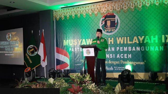 Muswil PPP Aceh Hasilkan 7 Nama Formatur