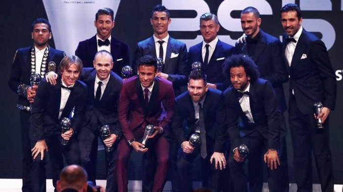Ini Daftar Lengkap Penerima FIFA Football Award 2017