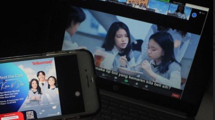 Telkomsel Gelar Meet the Cast Bersama Pelanggan, Rilis Drama Orisinal MAXstream 'Kau dan Dia Movie'