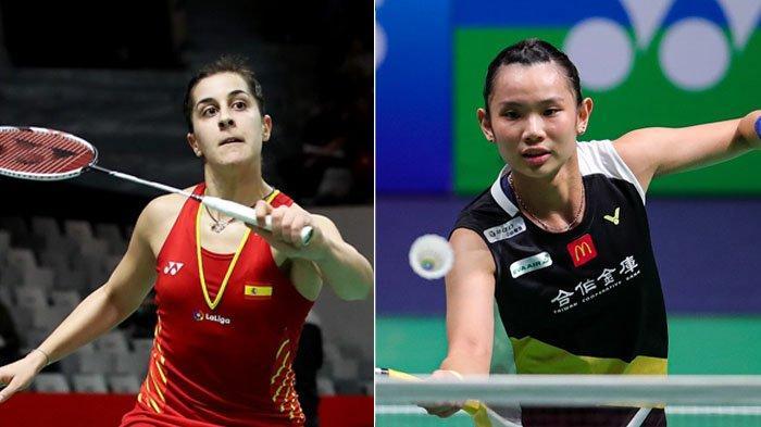 Final BWF World Tour Finals 2020 Minggu (31/1), Dendam Tai Tzu Ying dan Ambisi Carolina Marin