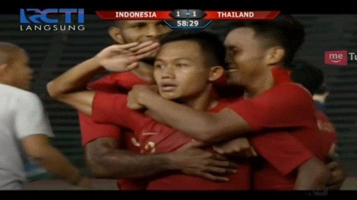 Final Piala AFF U-22 2019, Menit 65 Indonesia Vs Thailand 2-1, Nonton di Sini