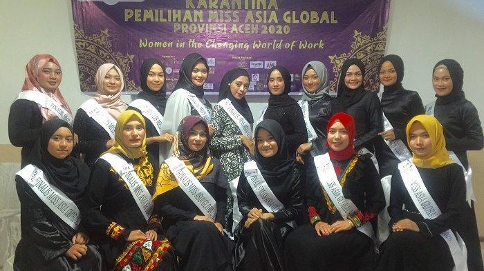 Penasihat YP2A Ingatkan 16 Finalis Miss Asia Global Aceh, Jaga Citra Wanita Muslimah