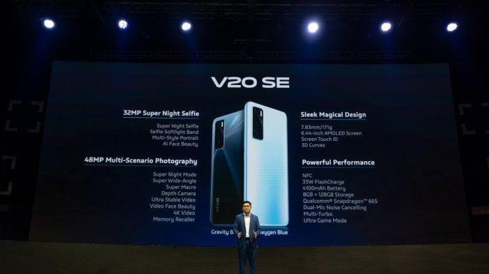 Vivo V20 SE Resmi Meluncur di Indonesia, Ini Fitur-fitur Unggulannya